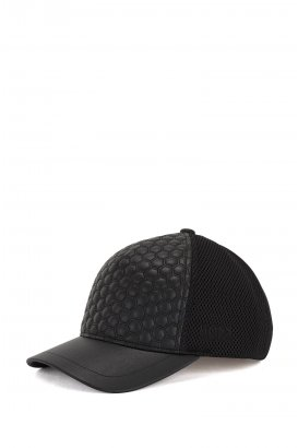 Pánská kšiltovka Cap-Quilted-Leather