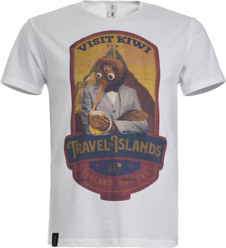 Pánské triko VisitKiwi