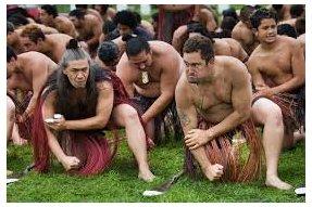 Maorové tančící Haku