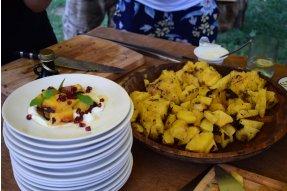 Hotový ananasový dezert
