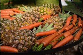 Grilování ananasu