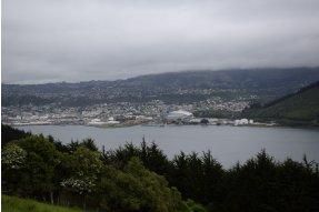 cesta z Dunedin do Otago Peninsula