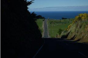 Cesta k Tunnel Beach