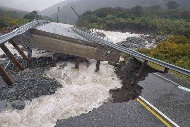 Záplavy na Jižním ostrově