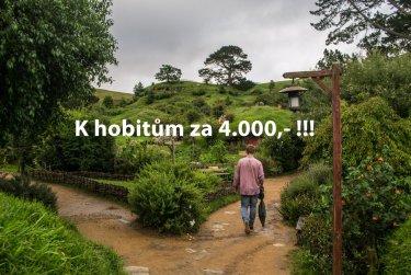 Na Zéland za 4.000,-