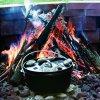 Litinový outdoorový hluboký hrnec s poklicí Lodge 4,7l (Camp Dutch Oven)