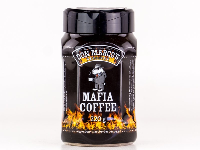 Don Marcos BBQ Grilovací koření Mafia Coffee, 220g