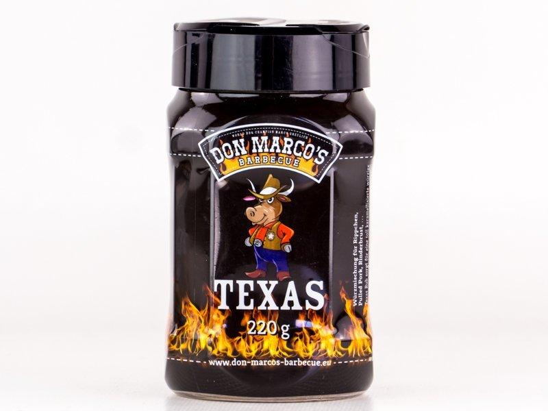 Don Marcos BBQ Grilovací koření Texas Style, 220g