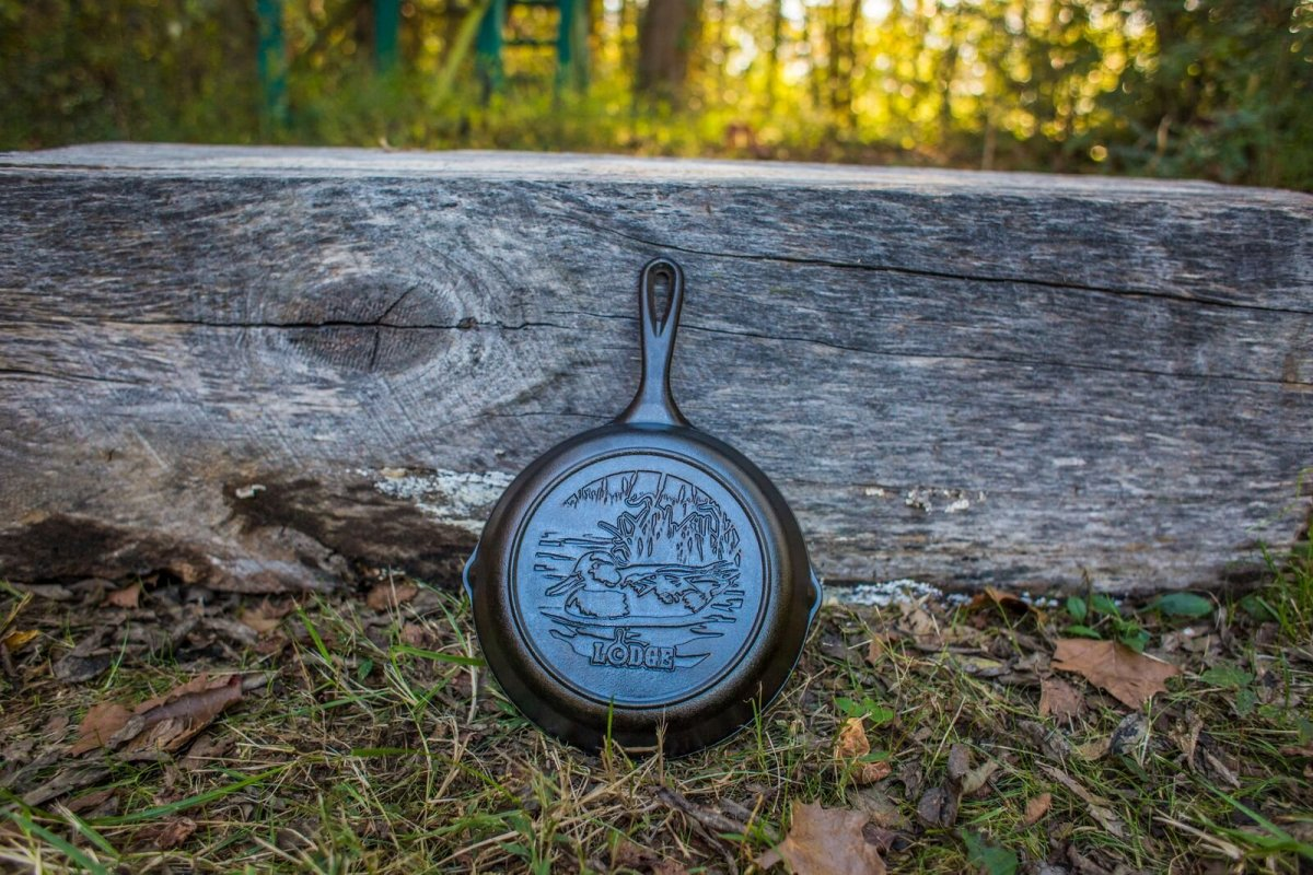 Litinová pánev Lodge - Duck, 20cm