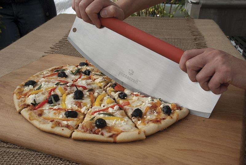 Pizza Craft Kráječ na pizzu - kolébka, softgrip rukojeť
