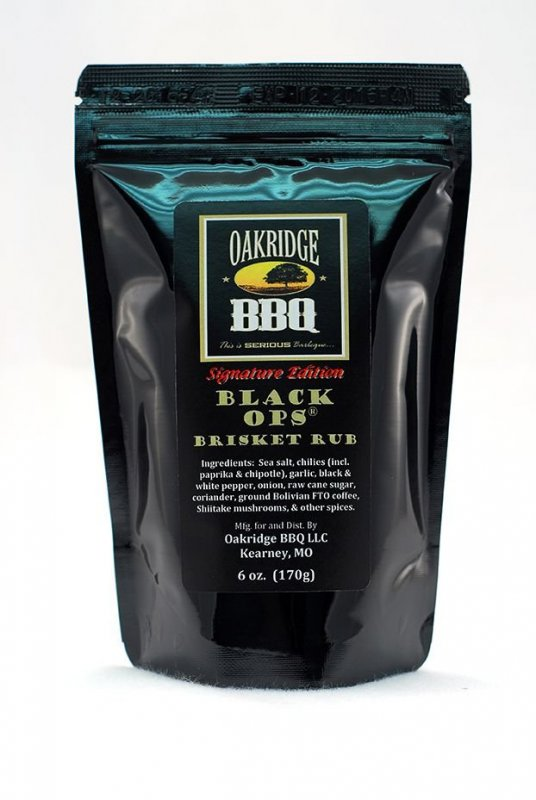 Oakridge BBQ 'Black Ops' Brisket Rub 170 g