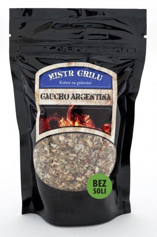 Mistr grilu Grilovací koření BEZ SOLI - Gaucho Argentina, 100g