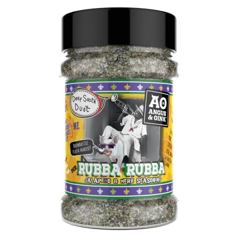 Grilovací koření Angus & Oink Rubba Rubba, 200 g