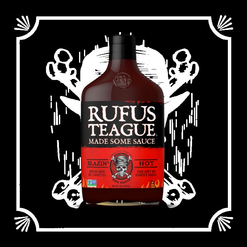 BBQ omáčka Rufus Teague Blazin´ Hot, 454 g