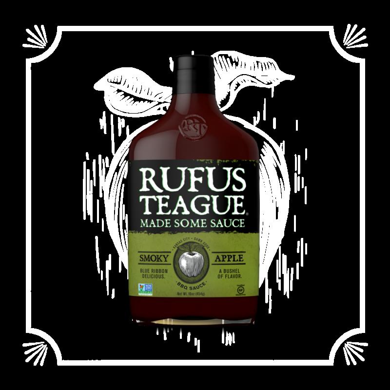 BBQ omáčka Rufus Teague Smoky Apple, 432 g
