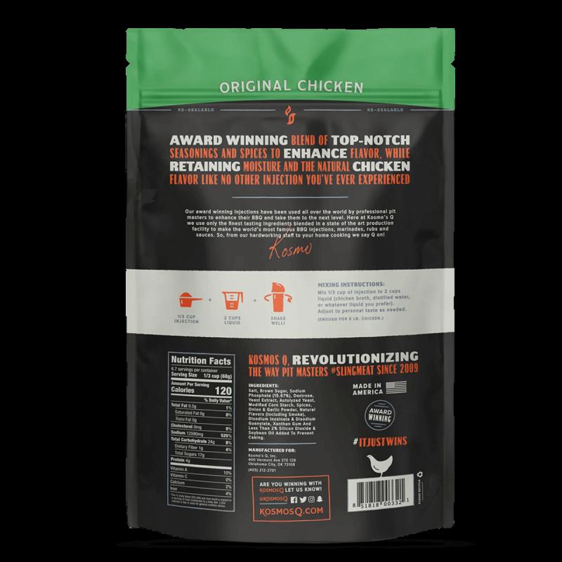 BBQ injektáž Kosmo´s Q Original Chicken, 453 g