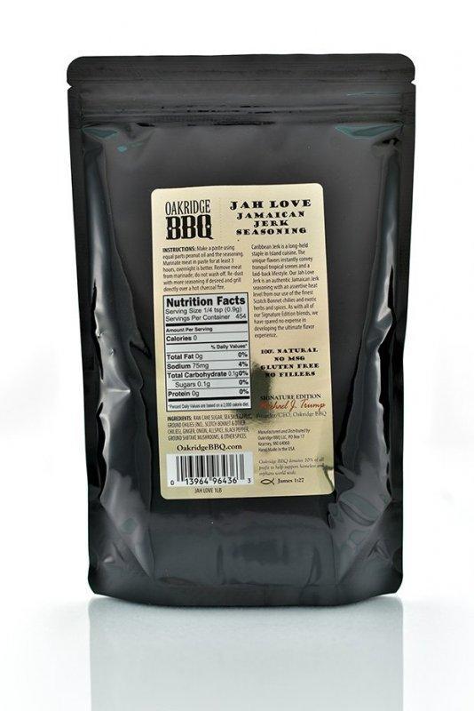 Grilovací koření Oakridge BBQ Jah Love Jamaican Jerk, 170 g