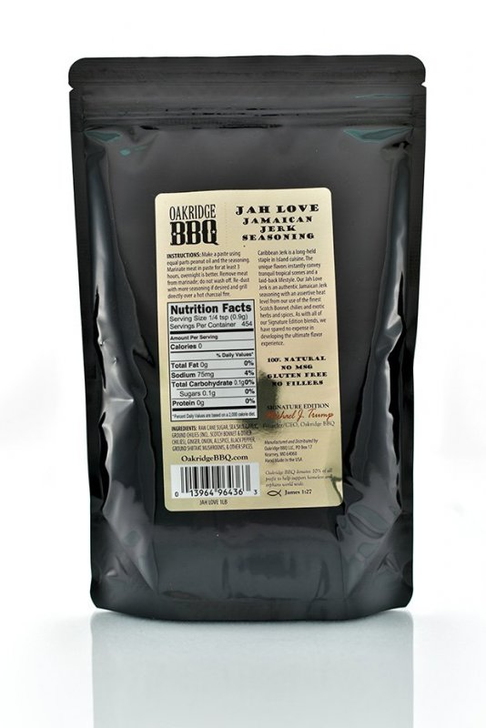 Oakridge BBQ Jah Love Jamaican Jerk Seasoning 170 g