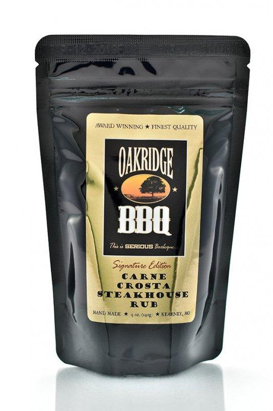 Steakové koření Oakridge BBQ 'Carne Crosta' Steakhouse, 142 g