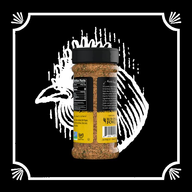 Rufus Teague Grilovací koření Rufus Chick N´Rub, 170 g