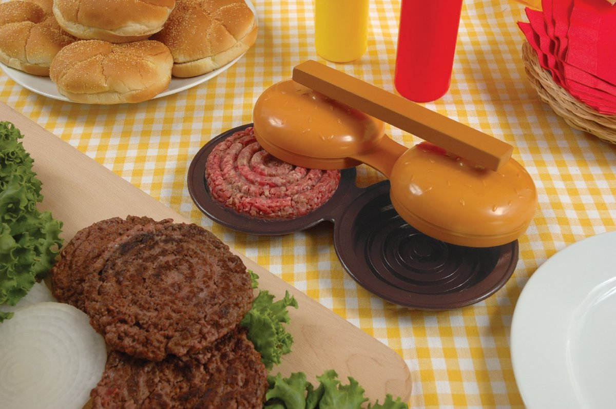 Charcoal Companion Forma na hamburgery