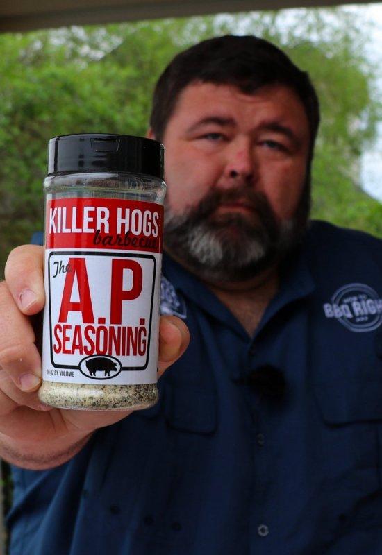 """Koření Killer Hogs BBQ """"AP"""" Rub, 470 ml"""