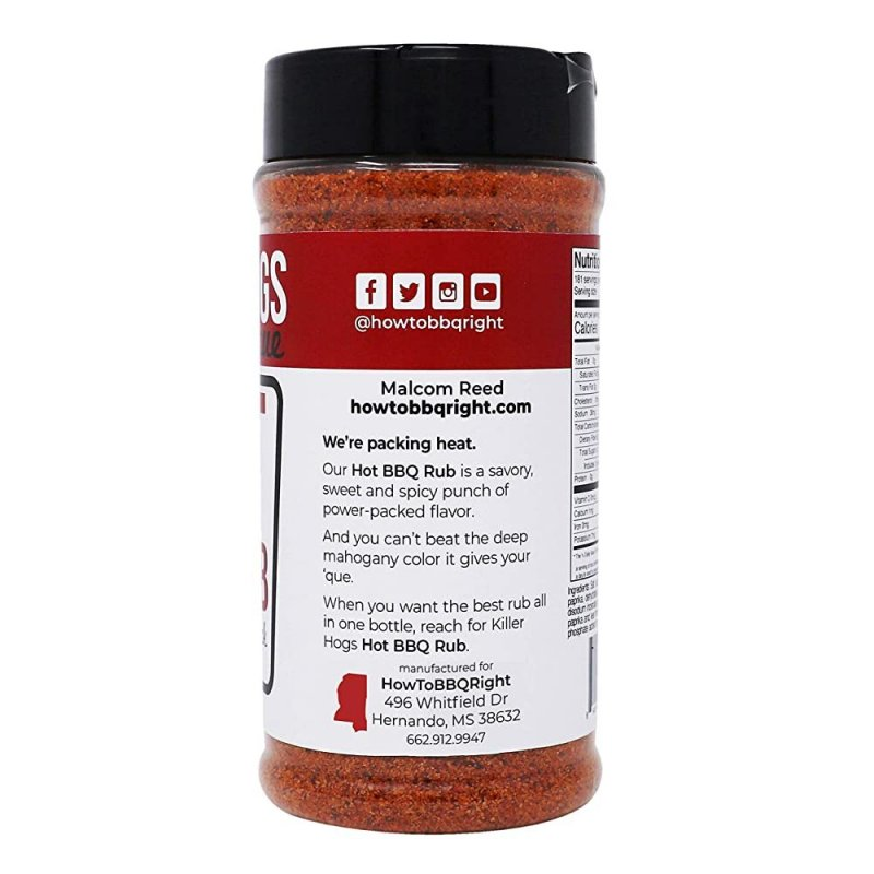 """Koření Killer Hogs """"The HOT BBQ Rub"""", 470 ml"""