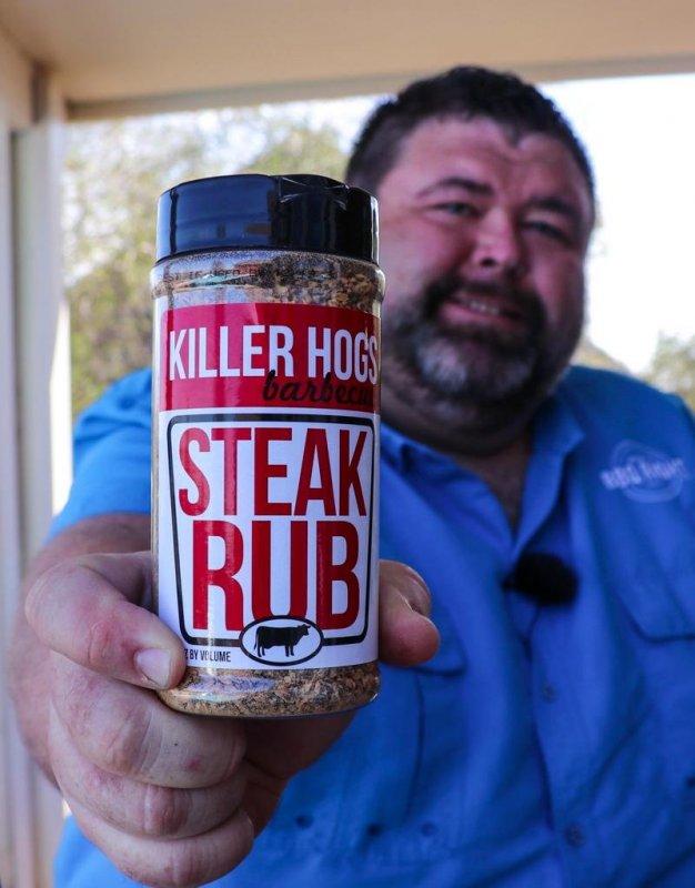 Killer Hogs Steak Rub, 470 ml