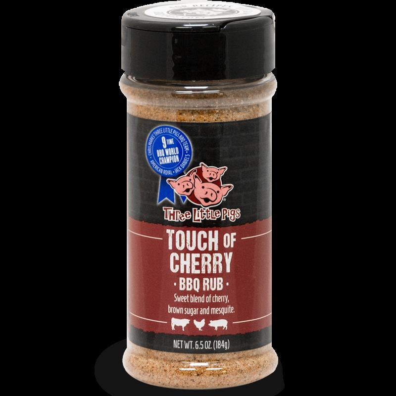 "BBQ koření Three Little Pigs ""Touch of Cherry"", 184 g"