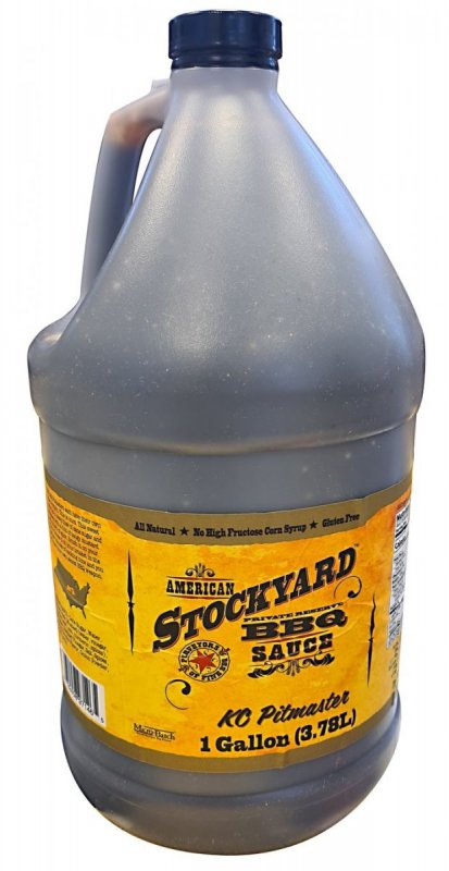 BBQ omáčka Stockyard KC Pitmaster, 3.78 l