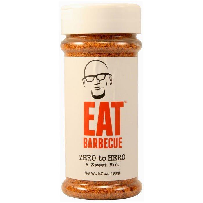 "Eat Barbecue BBQ koření Eat BBQ ""Zero to Hero"", 190 g"