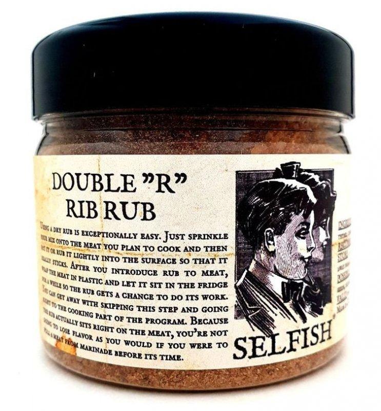 """Selfish Double """"R"""" Rib Rub, 300 g"""