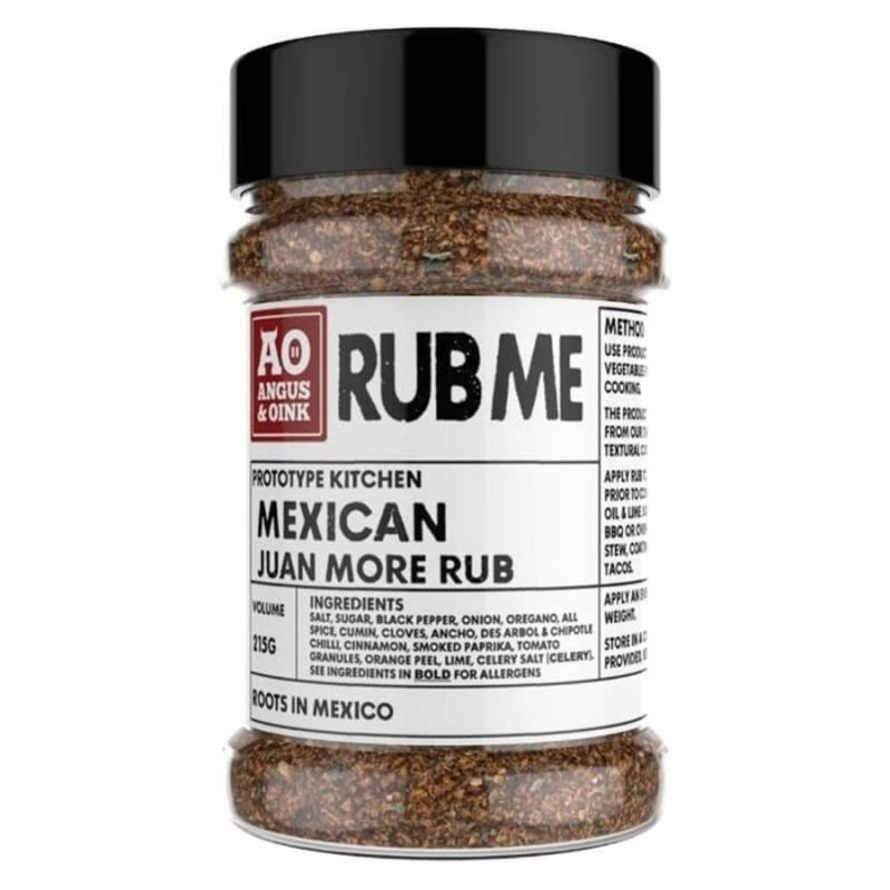 Angus & Oink Mexican, 215 g