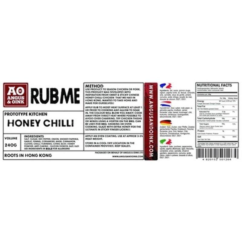 Angus & Oink Honey Chilli, 240 g
