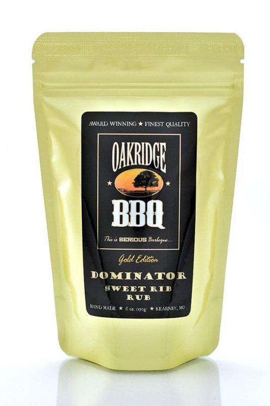 BBQ koření Oakridge BBQ Dominator Sweet Rib Rub, 170 g