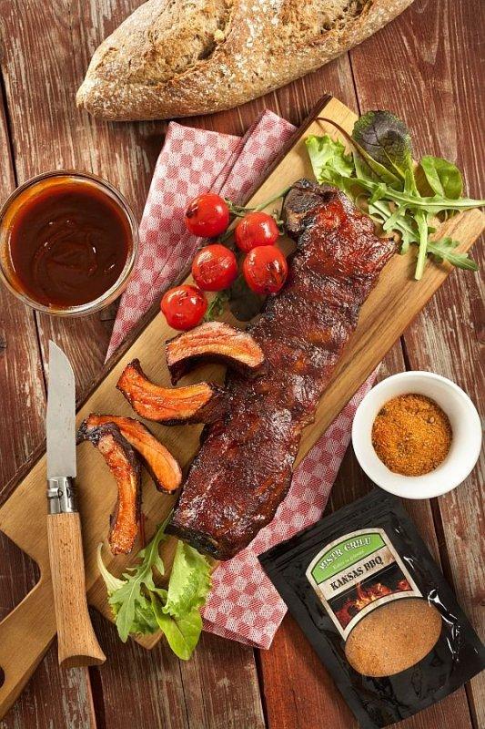 Mistr grilu Grilovací koření - Kansas BBQ, 150g