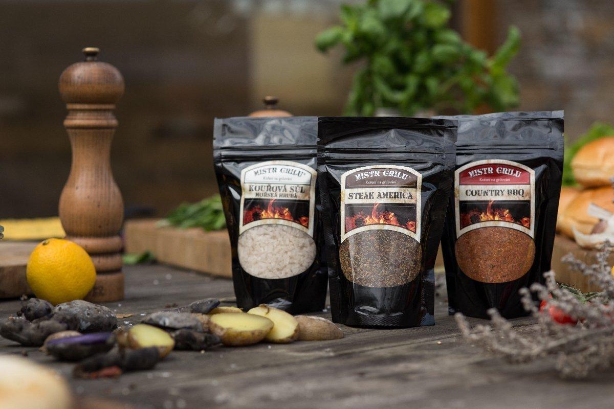 Mistr grilu Grilovací koření - Country BBQ, 150g