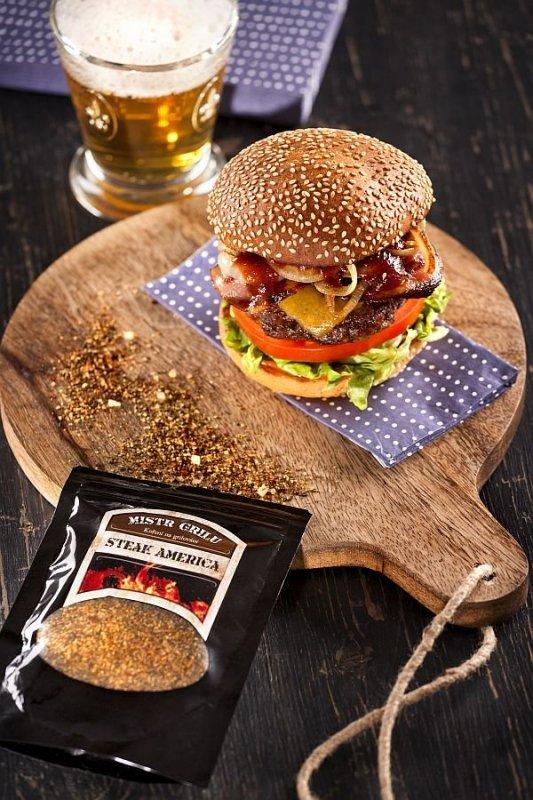 Mistr grilu Grilovací koření - Steak America, 150g