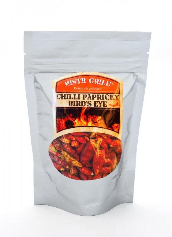 Mistr grilu Chili papričky Bird´s Eye 50g