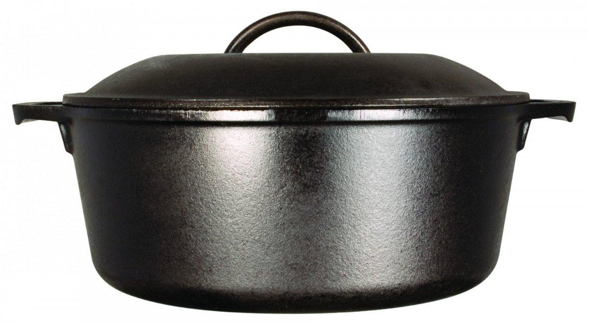 Litinový hrnec s poklicí Lodge 4,7 l (Dutch oven)