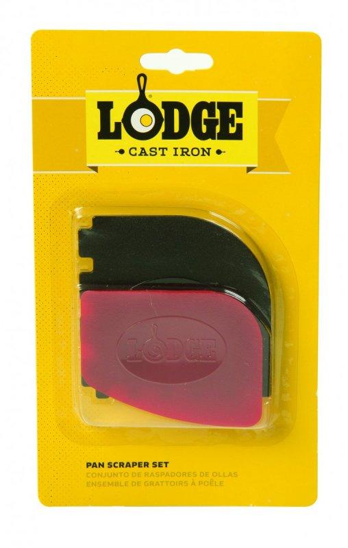 Sada 2ks škrabek na litinové tály Lodge