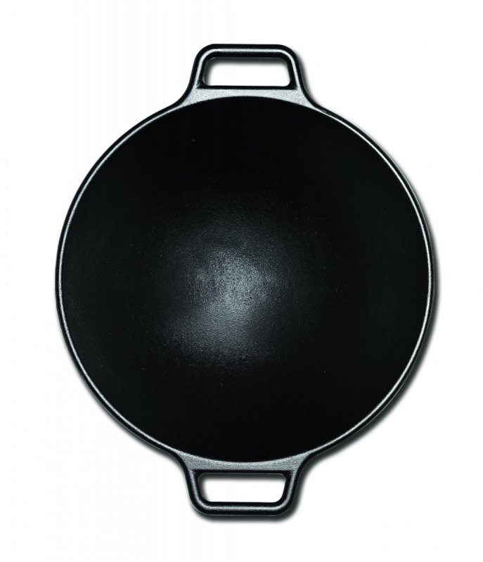 Lodge litinový wok 35 cm