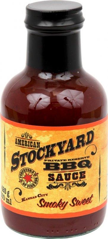 BBQ omáčka Stockyard Smoky Sweet, 350 ml