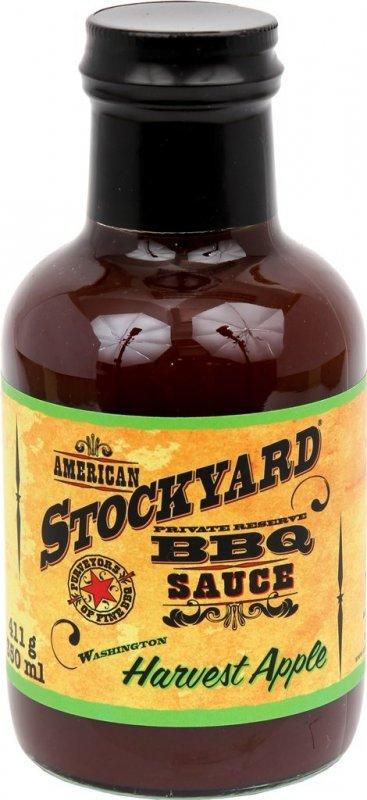 BBQ omáčka Stockyard Harvest Apple, 350 ml