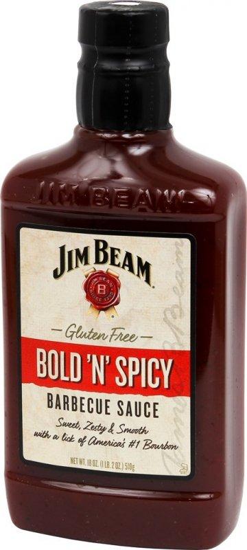 Jim Beam Bold N´Spicy BBQ Sauce, 510g