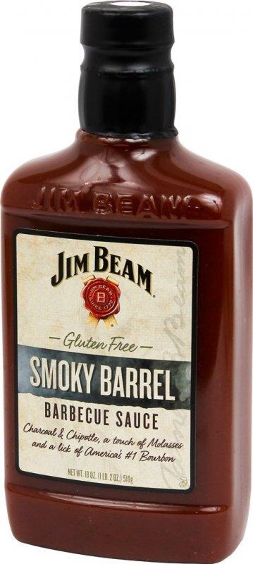 Jim Beam Smoky Barrel BBQ Sauce, 510g