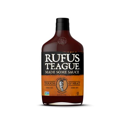 Rufus Teague Touch O´ Heat BBQ omáčka, 454g