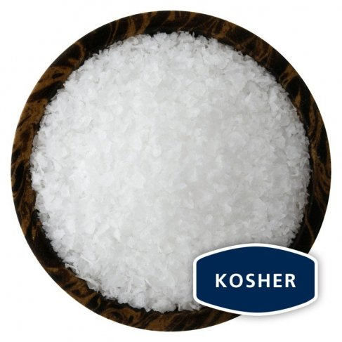 PACIFIC BLUE® Kosher - výběrová vločková sůl z Tichého oceánu, 80g