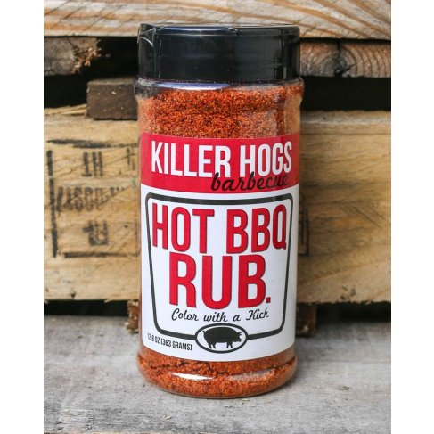 "Killer Hogs ""HOT BBQ Rub"" 340g"