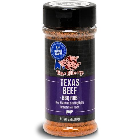 "BBQ koření Three Little Pigs ""Texas Beef"", 187 g"